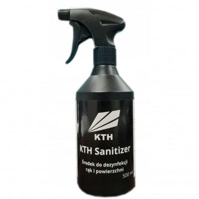 KTH Sanitizer - Środek do dezynfekcji rąk i powierzchni 500ml (HDPE)