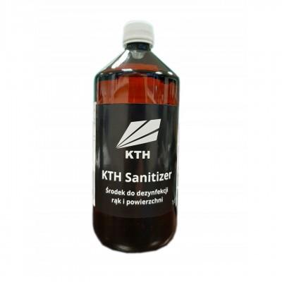 KTH Sanitizer - Środek do dezynfekcji rąk i powierzchni 1l (PET)